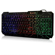 2016 New Backlight Wired LED Backlit Gaming Keyboard Computer Gaming Keyboard for PC Notebook Laptop