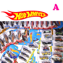 2017 new hot wheels hot sports car children's toys windmill pocket car 1:64 alloy models Children like the gift A