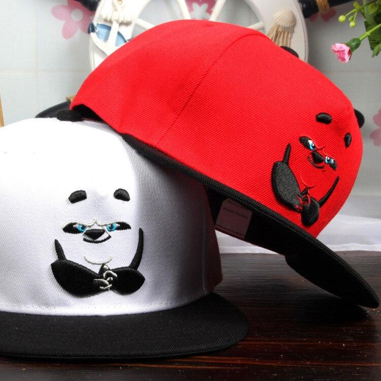 5pcs free shipping/2016-A448 panda embroidery  Street dance snapback hip-hop hat  men  women baseball cap wholesale<br><br>Aliexpress
