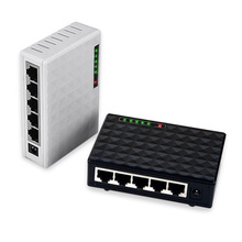 5 Port 10/100/1000Mbps Base Gigabit Switch HUB Fast LAN Ethernet Desktop Network Switches Adapter Black/White(China)