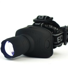Free Shipping Arrival 3-Mode CREE Q5 1000 Lumen LED Zoomable Headlamp Head torch Light Lamp for 3*AAA battery(China)