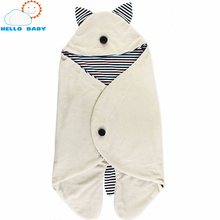 new quality comfortable soft Baby Sleeping Bag kid Clothing Sets Envelope For Newborns Fashion Cute Cartoon for children Bedding