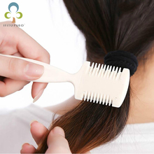 1pcs Home DIY Cut Hair Thinning Slim Trimmer Comb Hair Cutting Bangs Tails Simple Easy to use Hair Makeup Styling Tools(China)