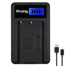 Probty EN-EL9 ENEL9a EN-EL9a EN EL9 EL9a MH-23 LCD USB Charger for Nikon D3000 D5000 D40 D60 D40X SLR Cameras(China)