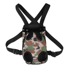 Fashion Camouflage Dog Carrier Travel Dog Backpack Breathable Pet Bags Shoulder Pet Puppy Carrier(China)