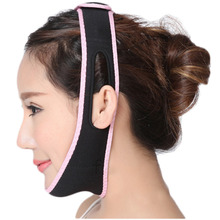 Hot Relaxation Facial Slimming Band Face Lift Up Belt Reduce Double chin Sleeping Face Lift Mask Massage Slimming Face Shaper(China)