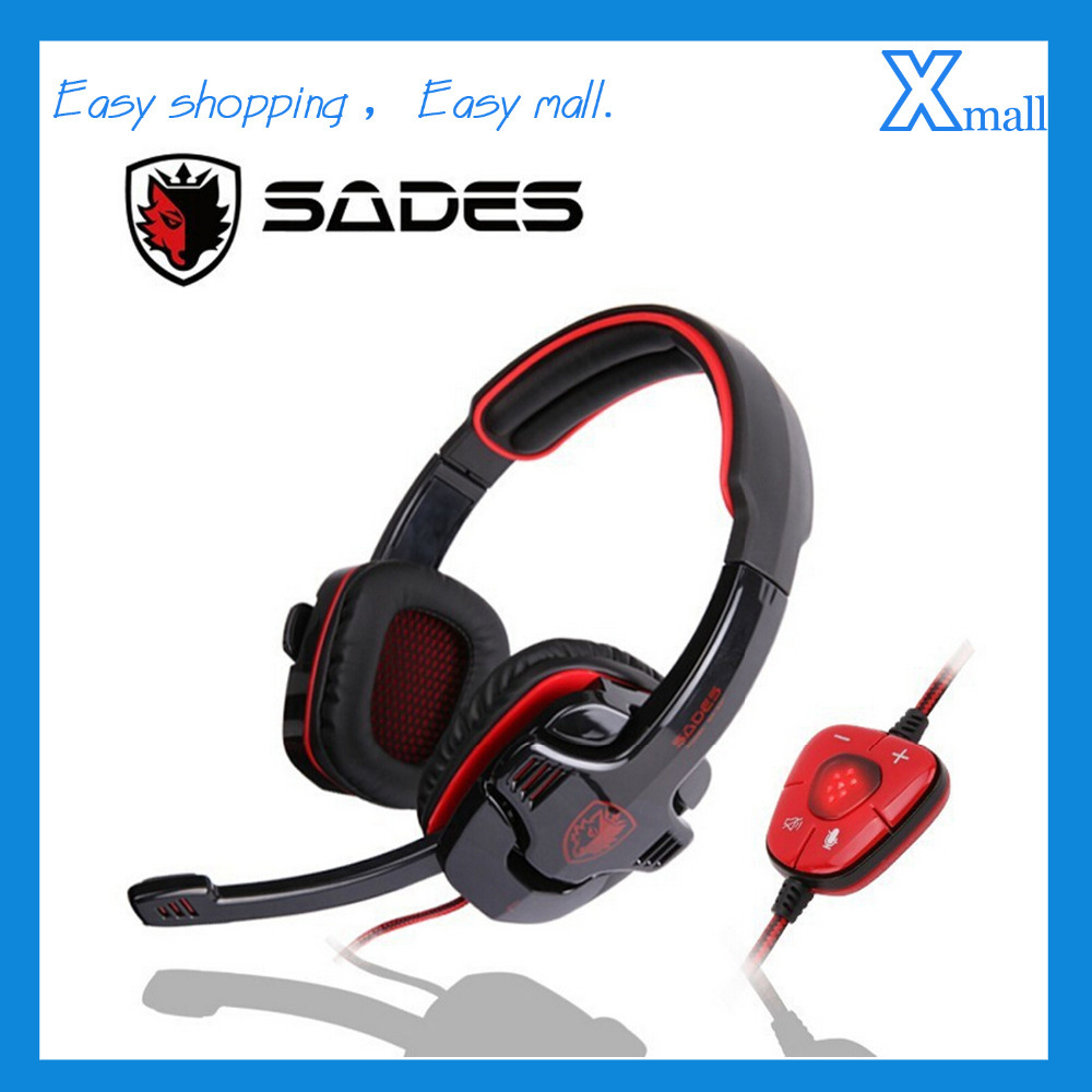SA-901 USB Gaming Headphones Noise Cancelling Studio Headset with Mic for PC Gamer<br>