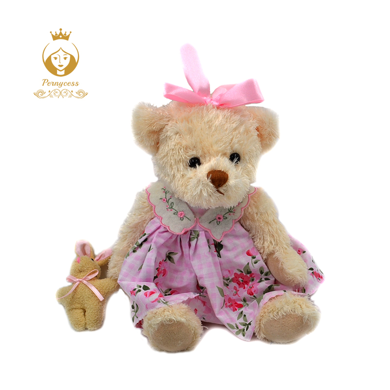 1-1PCS-30CM-wear-skirts-sweet-teddy-bear-plush-toys-cute-teddy-bear-soft-plush-dolls-baby