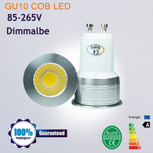 MINI LED Spotlight MR16 GU5.3 220V 12V  COB LED LAMP BULB Dimmable GU10 led spotlight  6W Ultra Bright GU 10 Bulbs Warm White