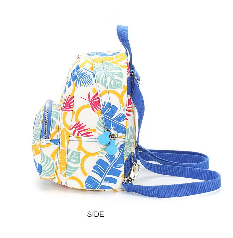 Findpop Mode Casual Sac À Dos Femmes 2018 Nouveau Étanche Mini Sac À Dos Pour Femmes Toile Floral Imprimé Petit Sac À Dos Pour Filles 18