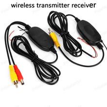 Top-Rated Best Quality 2.4G Wireless RCA Video Transmitter Receiver Kit for Car DVD Monitor Rear View Camera Reverse Backup