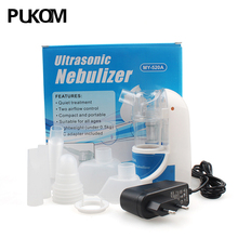 Health Care Asthma Inhaler Mini Automizer Children Care Inhale Nebulizer 110V/220V Home Ultrasonic Nebulizer with Free Shipping