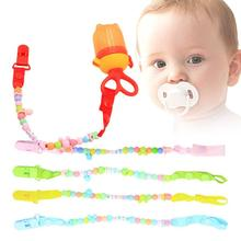 Buy Creative Beads Pacifier Clips Non-toxic Soother Clips Baby Pacifier Holder Teething Toy Attache Dummy Clip B3 for $1.25 in AliExpress store