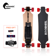 Free shipping Koowheel 4 wheels electric skateboard hub motor samsung battery longboard electric Scooter/Unicycle Drop shipping(China)