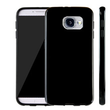 For Samsung Galaxy S6 Case Ultra Thin Glossy Jet Black Soft TPU Silicone Rubber Phone Cases Covers For Galaxy S7 S6 Edge Note 5