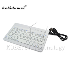 kebidumei New Universal Wireless Bluetooth 3.0 Keyboard Ultra Slim for Tablet Smartphone Laptop Device for iPad Mini 2 Air 3(China)