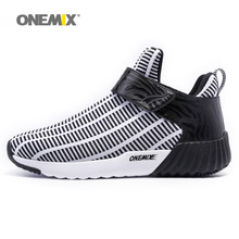 Newest Onemix warm height increasing shoes winter men & women sports shoes outdoor men's running shoes size EU 36-46(China)