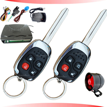 universal car anti-theft device,6 wires central lock connection,anti-hijacking function,side door alarm,shock sensor alarm