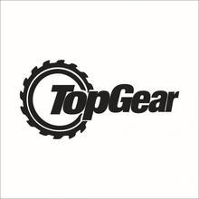 20*10cm Funny TopGear Auto Car Walls Windows Sticker Graphic Vinyl Car Decals Car Stickers Styling Accessories