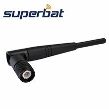 Superbat 2.4GHz 5dBi tilt-and-swivel TNC male WLAN PCI Card Aerial Rubber-duck Antenna Omnidirectional WiFi Antenna Booster NEW(China)