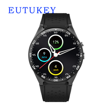 EUTUKEY KW88 3G WIFI Smartwatch Mobile Phone All-in-one Bluetooth Smart Watch Android 5.1 Sim Card GPS Camera Heart Rate Monitor(China)