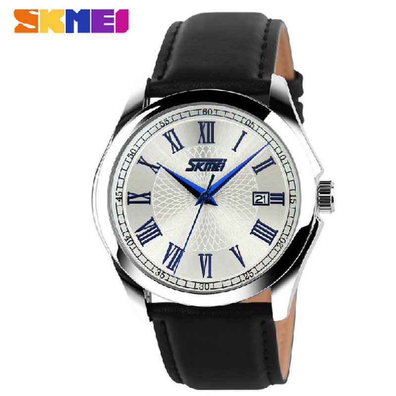 men 2017 leather watch 3atm stainless steel back quartz quality watches<br><br>Aliexpress