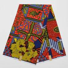 African Fabrics Ghana Wax Print Fabric Nigerian Ankara 2017 The New Listing Hollandais Wax Print Nigeria Wax Hollandaise(China)