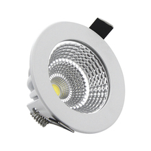 New Dimmable LED Recessed COB Downlight 5W 7W 9W 12W 15W 18W Dimming LED Spot light Led Ceiling Lamp White/Warm White AC85-265V