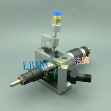 ERIKC Auto common rail injector repair tool,injection Universal Grippers and Diesel Oil return Device for Bos/ch,Denso injectors