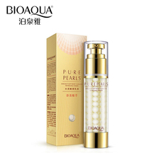 BIOAQUA Brand Skin Care Pure Pearl Face Cream Hyaluronic Acid Deep Moisturizing Anti Wrinkle Face Care Whitening Essence Cream