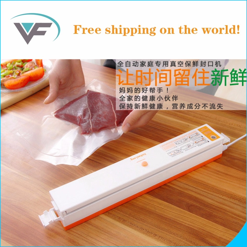 2017 cheapest Automatic Electric Vacuum Food Sealers Machine With All Size Vacuum Bag For Peanut Portable Hot Sales In Russian<br>