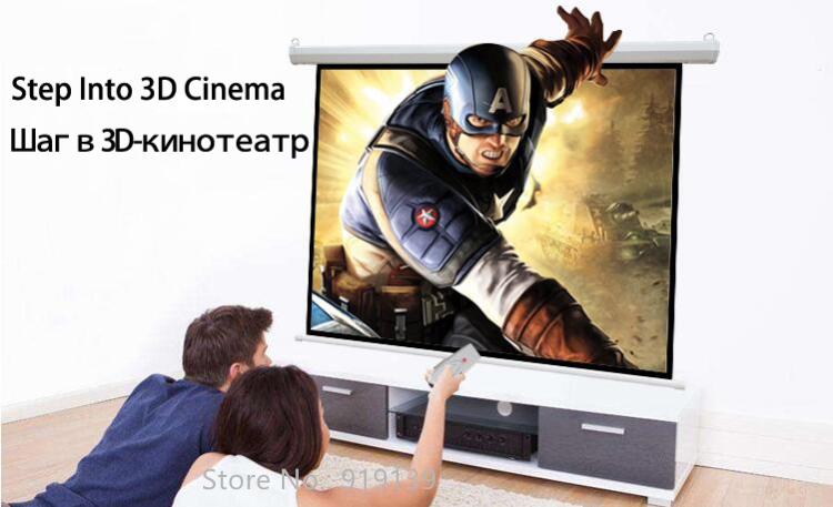 120inch 4x3 Electric Screen pic 10