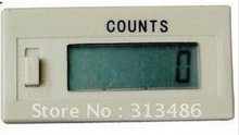 6 digit LCD 1-999999 digital Counter built-in power