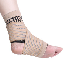 1Pcs Adjustable Ankle Support Bandages Sports Elastic Ankle Brace Pad Foot Straps Protection Wrap Support Foot Care Tools