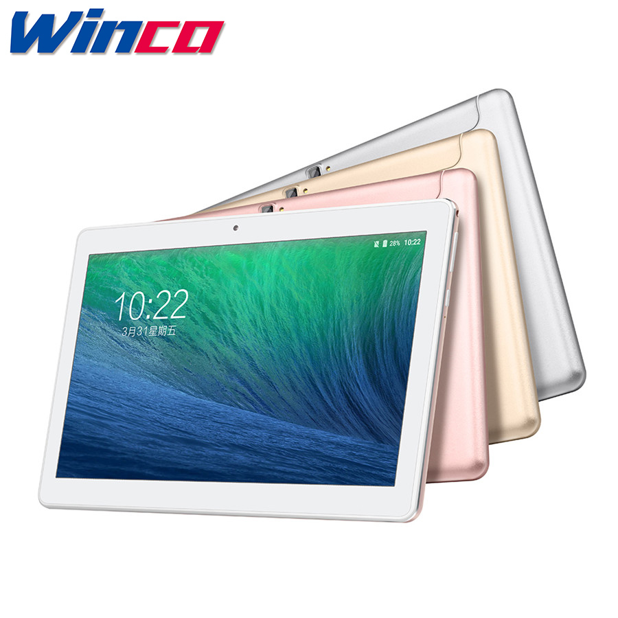 10.1'' VOYO Q101 4G Phone Call Tablet PC MTK6753 Octa Core IPS 1920*1200 Android 7.0 LTE WCDMA GSM Dual-SIM 2GB Ram 32GB Rom(China)