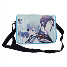 The new animation recommended good BLACK BUTLER theme color Messenger Bag