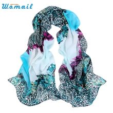 Womail Good Deal  New Hot Spring Summer Ladies Gradient color Womens Ladies Voile Long Stole Scarves Shawl Scarf Gift 1PC