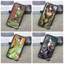 Poison Ivy DC Comics fashion original cell phone case cover for Samsung galaxy S3 S4 S5 S6 S6 edge S7 S7 edge Note 3 4 5 #ZH44