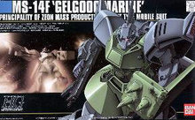 BandaiHGUC 16 MS-14F Gelgoog Marine Gundam Model Kits Assembled model Scale Model