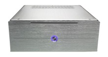 Realan industrial high quality oem mini htpc desktop case  E-i7 CD-ROM  slots aluminum black silver without power supply