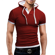 Brand 2016 Mens Polo Shirt Short-Sleeve Solid Poloshirt Men Polo Homme Slim Mens Clothing Camisas Hooded Camisa Polo  Shirt 4XL