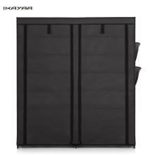iKayaa US UK FR DE Stock 12 Layers Shoes Cabinet Portable Fabric Shoes Rack Shoe Cabinet Living Room Furniture(China)