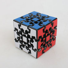Brand New X-cube 60mm 3x3x3 Gear Magic Cube 3D Puzzle Cubes Educational Toys Special Toys(China)