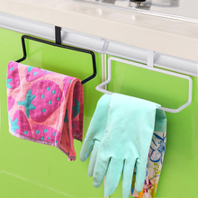 Stainless Steel Cabinet Hanger Over Door Kitchen Hook Towel Rail Hanger Bar Holder Drawer Storage Bathroom Tools ZH864(China)