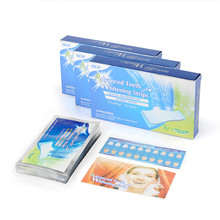 14 Bags/28Pcs Professional Teeth Whitening Strip Tooth Whitening Strip Tooth Bleaching Whiter Whitestrips Dental Set(China)