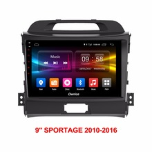 "Android 6.0 Octa Core 2GB RAM+32GB ROM 9"" Car DVD Player For Kia Sportage R 2010-2016 GPS Navi Radio Stereo(China)"