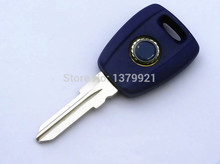 car key shell case for Fiat Bravo Punto Ducato Daily Scudo Transponder Key  with logo Blue shell