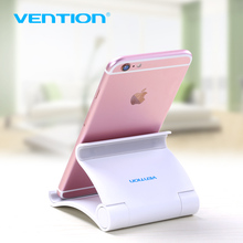 Vention Mobile Phone Holder For iphone Xiaomi Flexible Dest Phone Stand Universal Desk Holder For Huawei Samsung ipad Tablet PC(China)