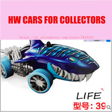 Hot Sale Supper Cool Shark Alloy Cars Models Special Type Wholesale Metal Mini Cars For Collecter Hot Shark 1:64 Wheels(China)