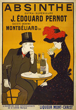 1900's French Absinthe Liqueur Drinks Advertisement Art Silk Poster Print Home Wall Decor